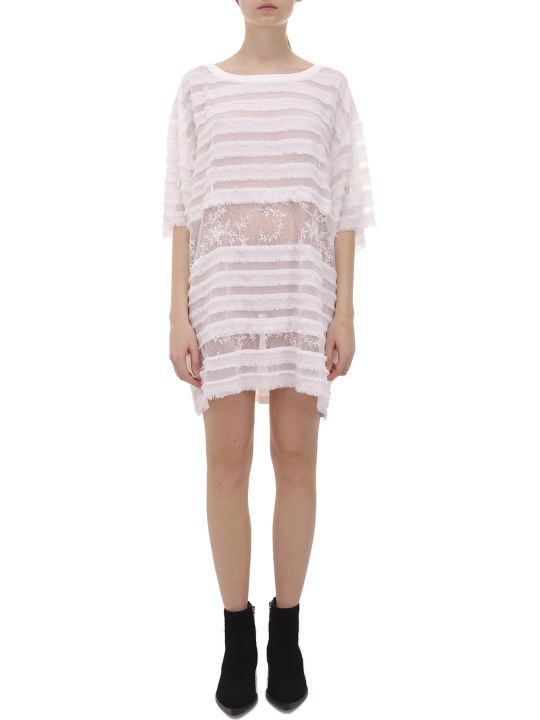 Faith Connexion White T-shirt Dress