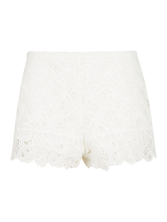 Ermanno Scervino Cut Out Shorts