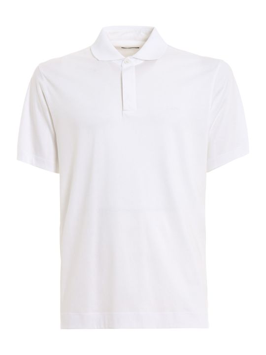 Z Zegna Chest Logo Polo Shirt