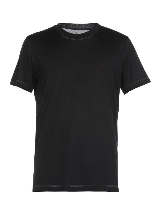 Brunello Cucinelli Silk And Cotton T Shirt