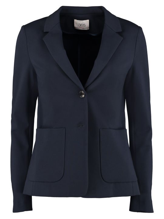 Jucca Single-breasted Two-button Blazer