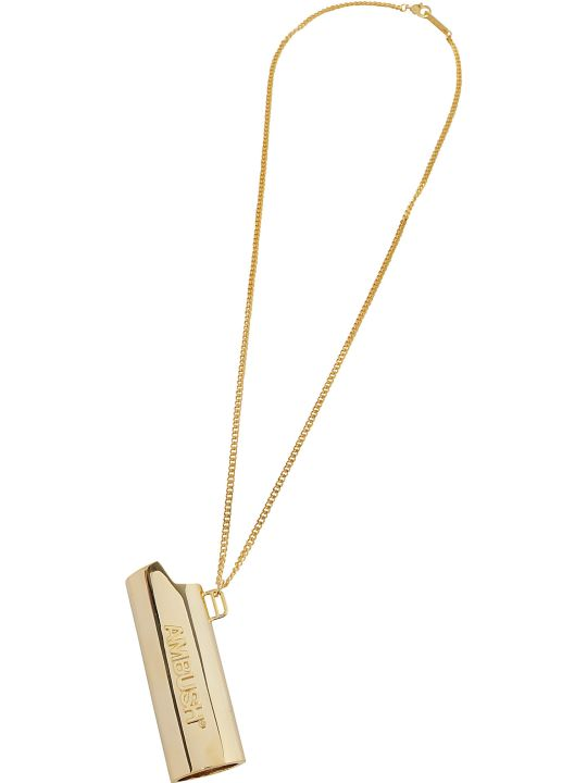 AMBUSH Logo Lighter Case Necklace