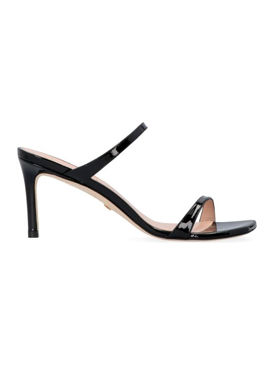 Stuart Weitzman Aleena Patent Leather Sandals