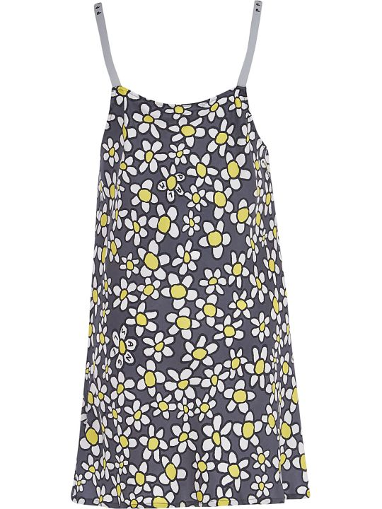 Palm Angels Palm Daisies Mini Sleep Dress