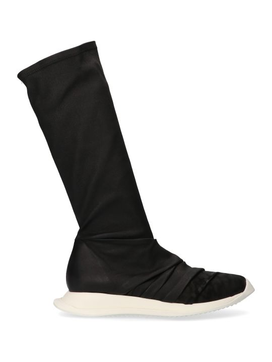 Rick Owens 'draped Oblique Runner Stretch Sock' Shoes