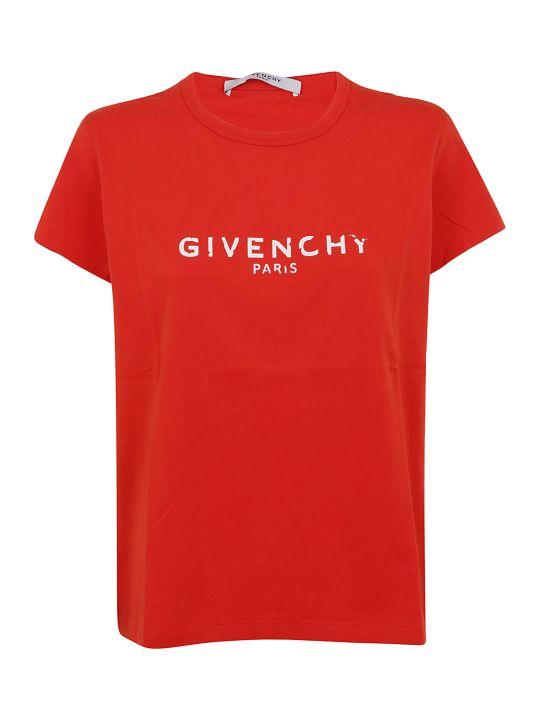 Givenchy Faded Logo T-shirt