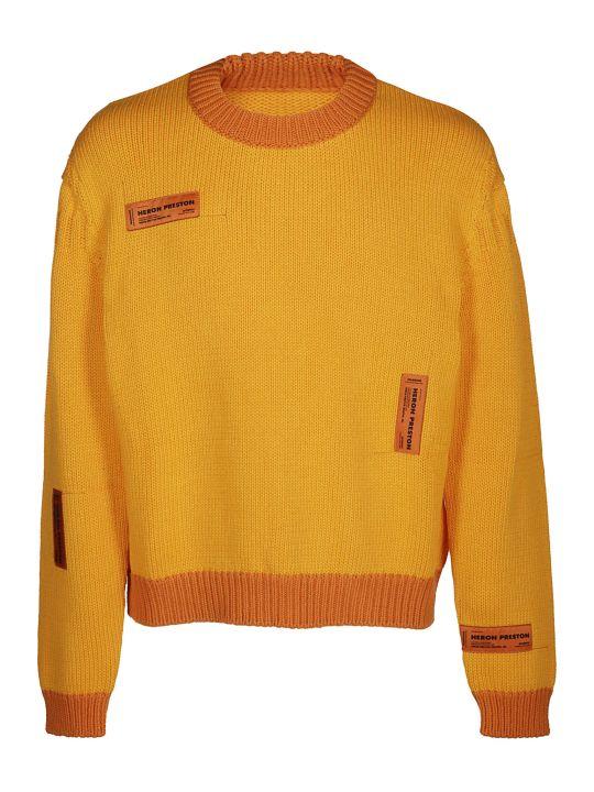 HERON PRESTON Label Tag Knit Jumper