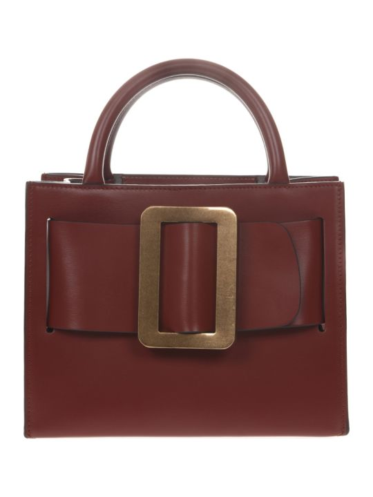 BOYY Bobby Burgundy Leather Tote Bag