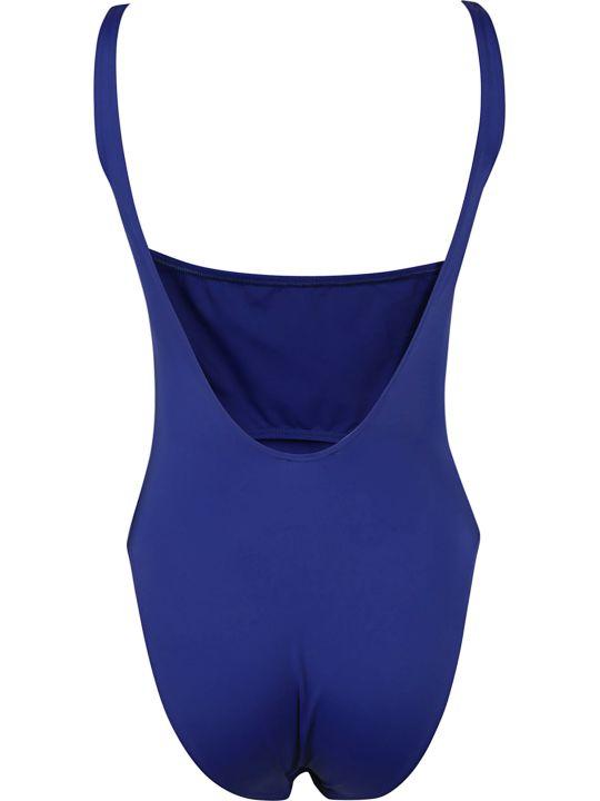 Versace Logo Print Swimsuit