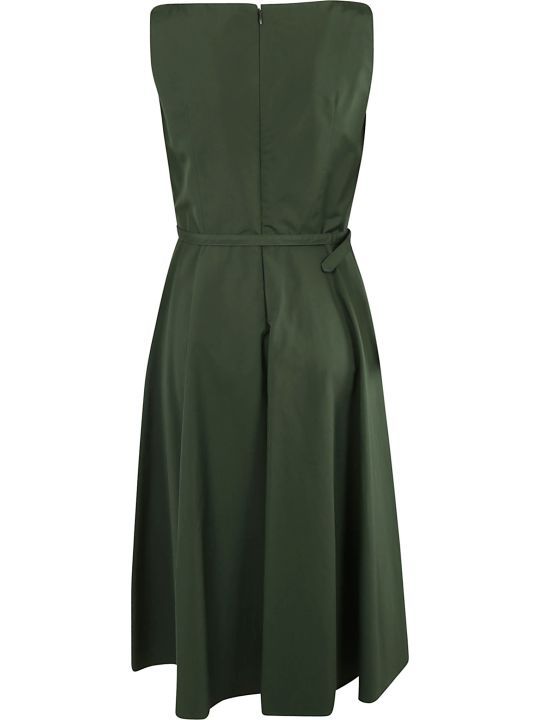 Aspesi Belted Waist Sleeveless Dress