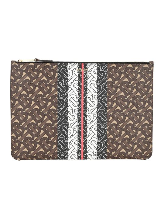 Burberry London Tb Monogram Print Pouch