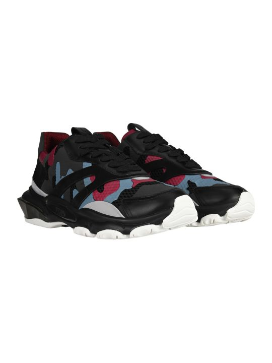 Valentino Bounce Camouflage Sneakers
