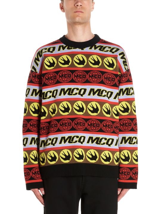 McQ Alexander McQueen 'mcq Tape' Sweater