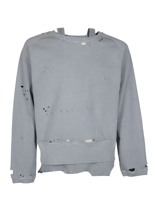 C2h4 Distressed Sweatshirt