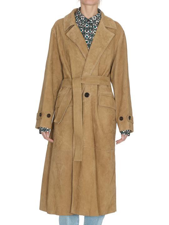 Golden Goose Elle Leather Coat