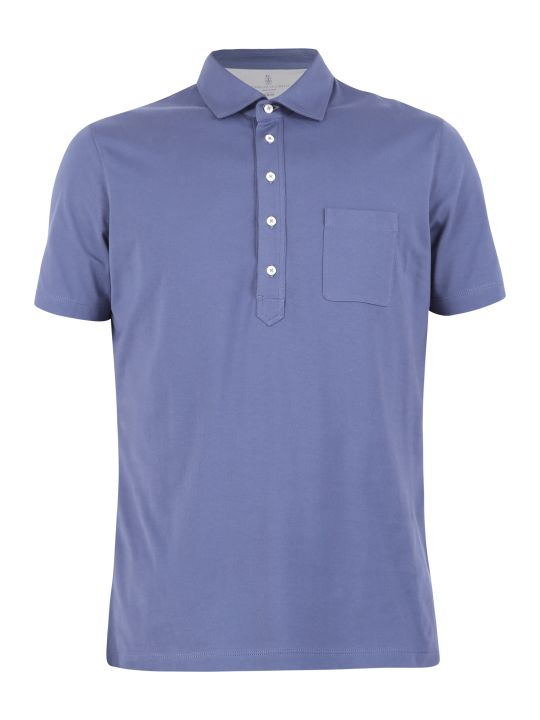Brunello Cucinelli Blue Polo