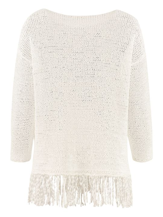 Fabiana Filippi Cotton Crew-neck Sweater