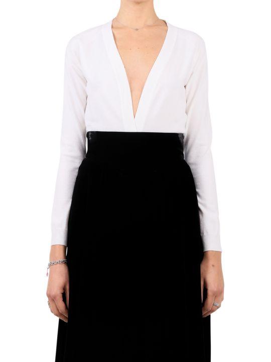 Alaia White Sweater