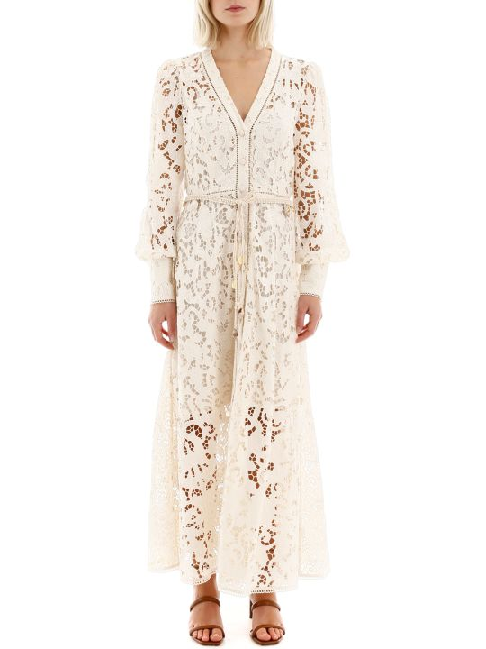 Zimmermann Freja Broderie Dress