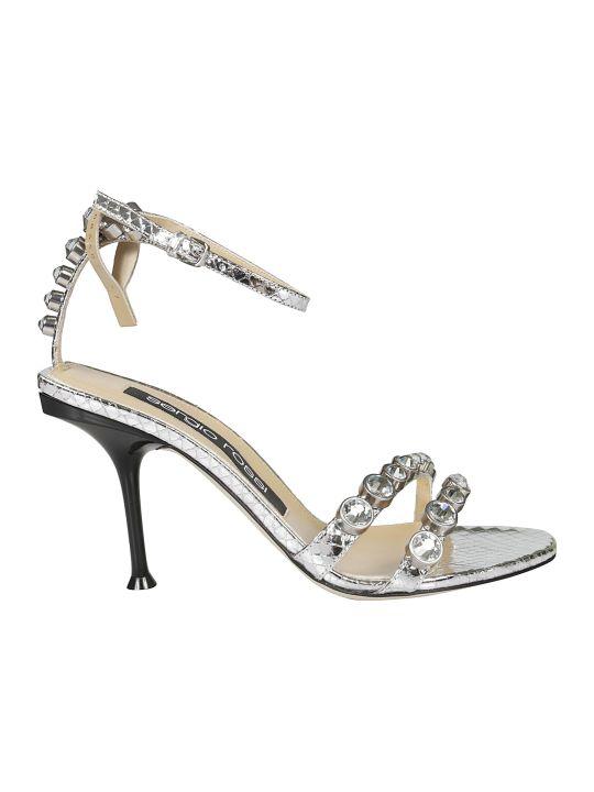 Sergio Rossi Mirrored Sandals