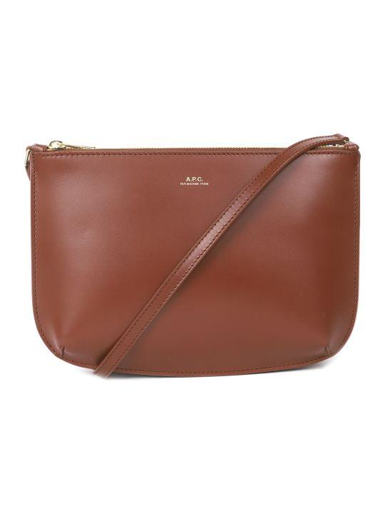 A.P.C. Brown Sarah Bag