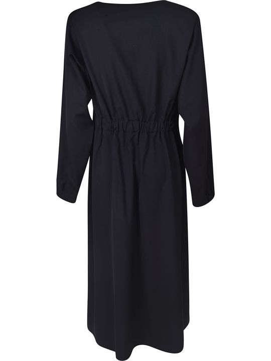 Sofie d'Hoore Fitted Waist V-neck Dress