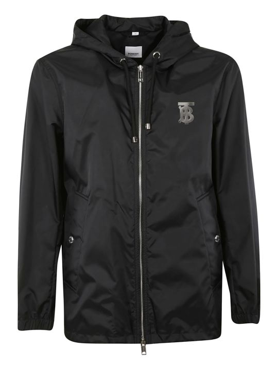 Burberry Motif Hooded Jacket