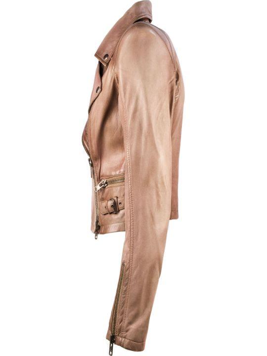 S.W.O.R.D 6.6.44 Pink Biker Jacket