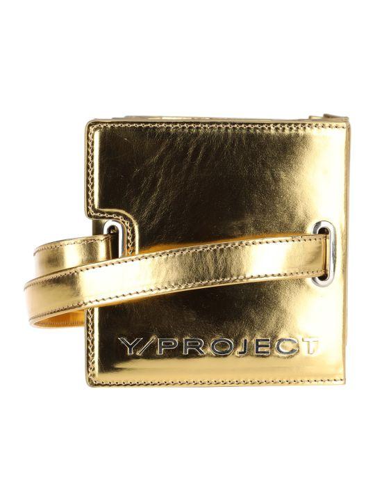 Y/Project Metallic Tote Bag