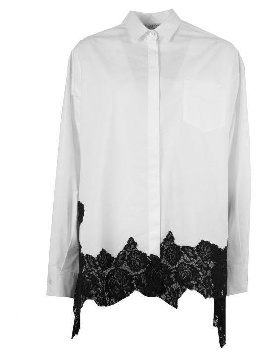 Philosophy di Lorenzo Serafini White Cotton Shirt