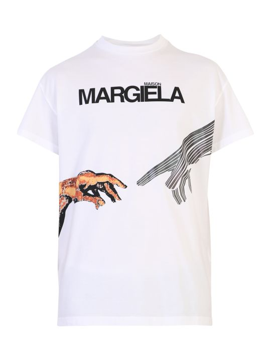 Maison Margiela Printed Cotton T-shirt