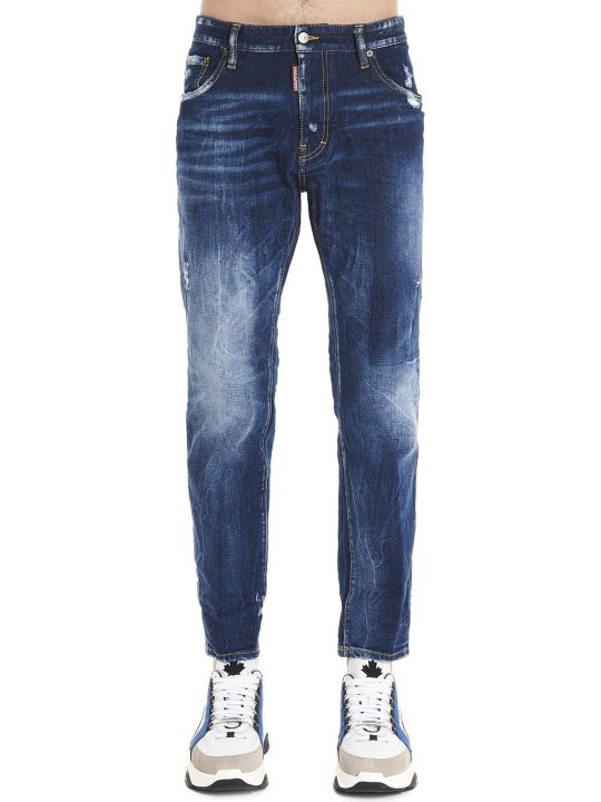 Dsquared2 'straight Leg Boot Cut' Jeans