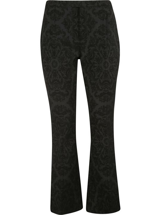 Saint Laurent Jacquard Print Trousers