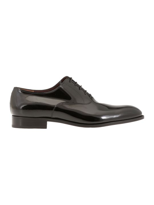 Fratelli Rossetti Patent Leather Lace Up Shoe