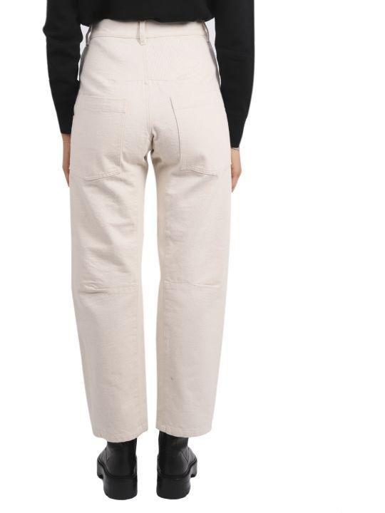 Barena Ecru Evita Tober Trousers
