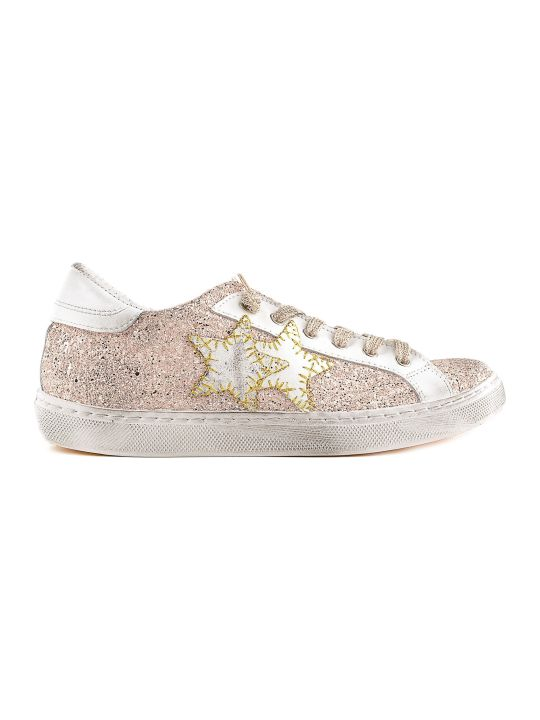 2Star Embroidered Stars Sneakers