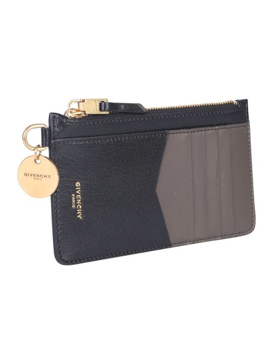 Givenchy Bicolor Leather Card Holder