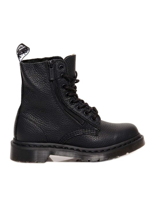 Dr. Martens 1460 Pascal With  Zip Ankle Boots