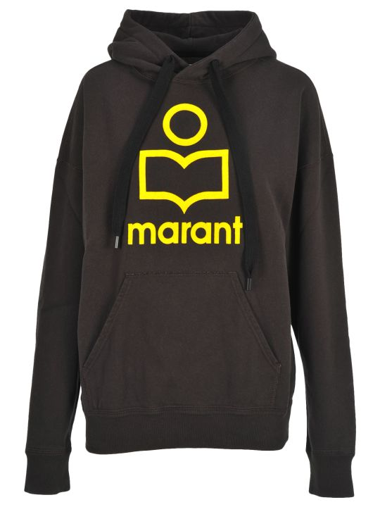 Isabel Marant Étoile Im Etoile Mansel Logo Hooded Fleece