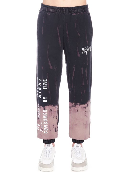 MISBHV 'destroyed Graphic Military' Sweatpants