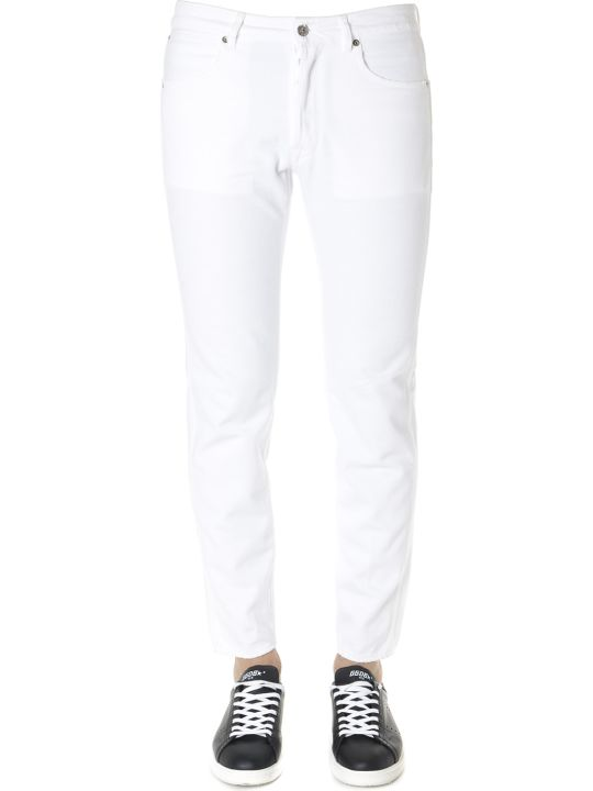 Golden Goose White Denim Happy Pant