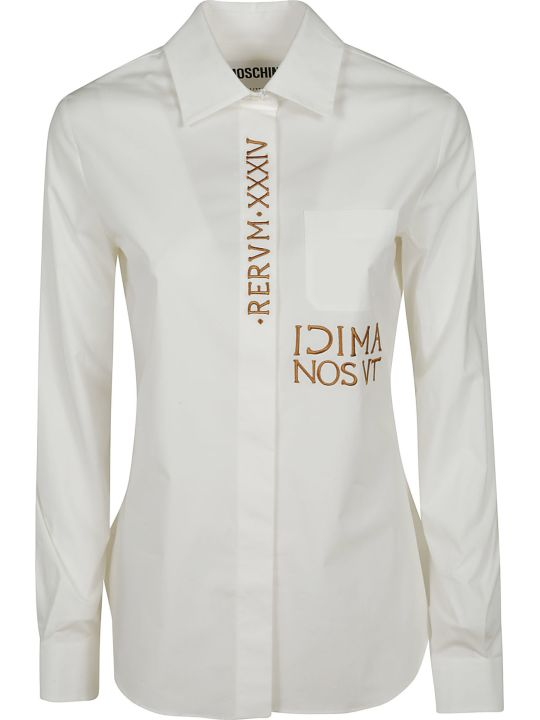 Moschino Embroidered Shirt