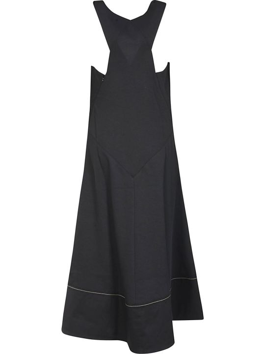 Proenza Schouler V-neck Flared Dress