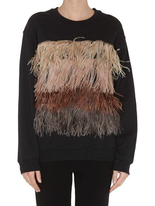 5 Progress Turkey Fur Detail Sweatshirt