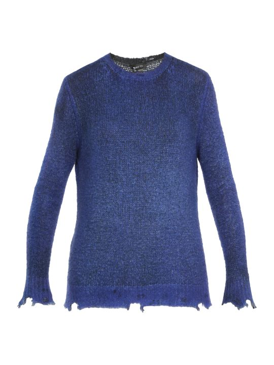 Avant Toi Destroyed Sweater