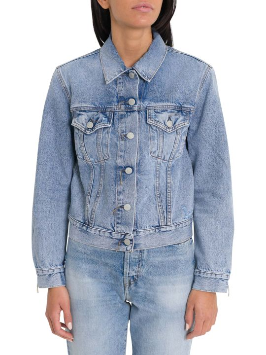 Acne Studios Denim Jacket Dark Blue