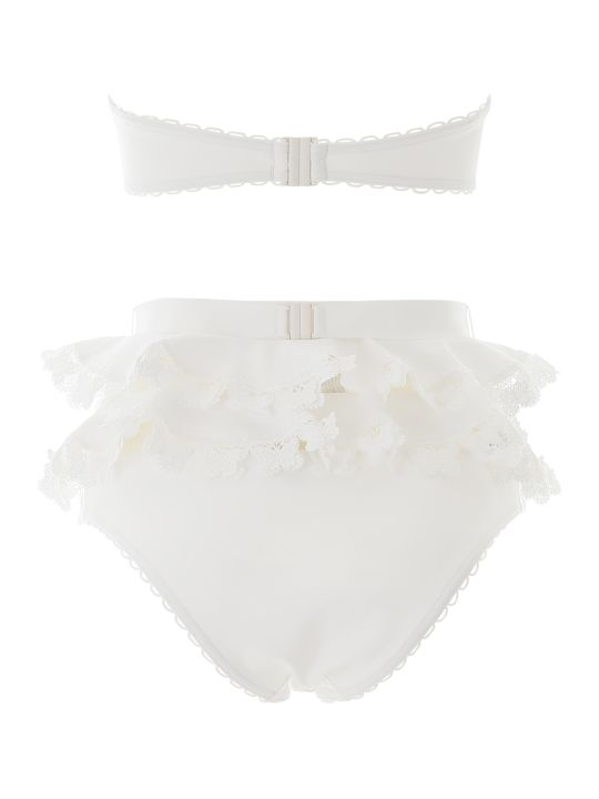 Zimmermann Bikini With Lace