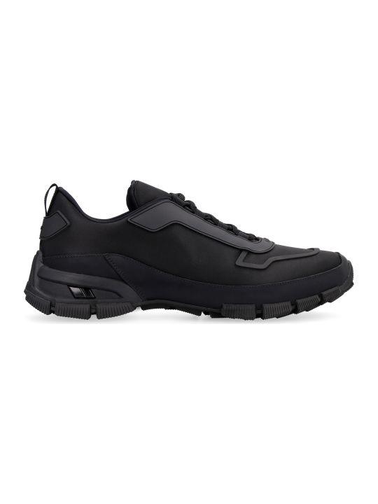 Prada Nylon Low-top Sneakers