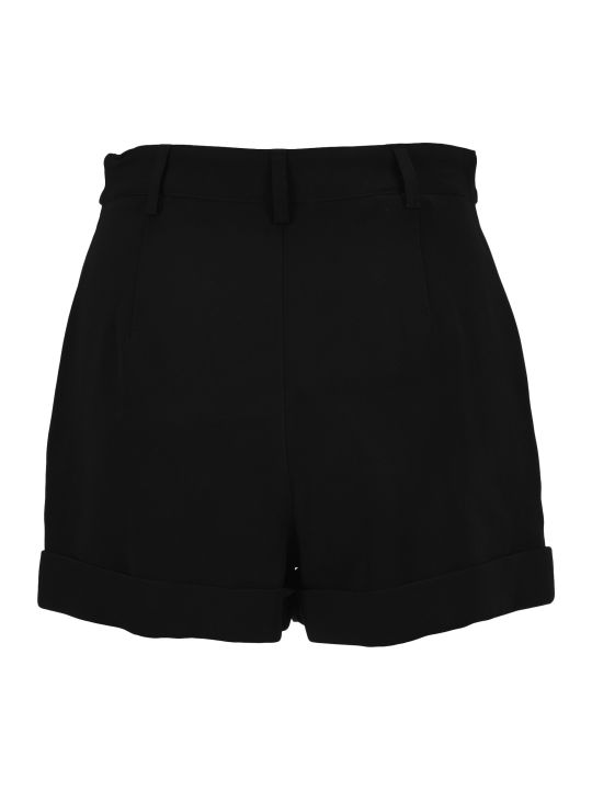 Philosophy di Lorenzo Serafini Philosophy Button Embellished Turn-up Cuff Shorts