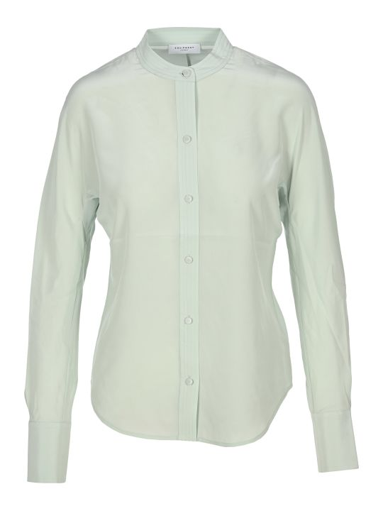 Equipment Band Collar Shirt